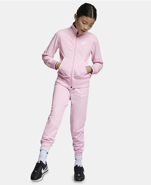 Nike Big Girls 2-Pc. Sportswear Zip-Up Track Jacket & Pants Set