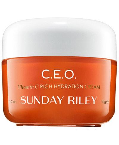 Sunday Riley C.E.O. Vitamin C Rich Hydration Cream, 1.7 oz.