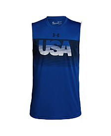 Under Armour Big Boys USA Tank Top