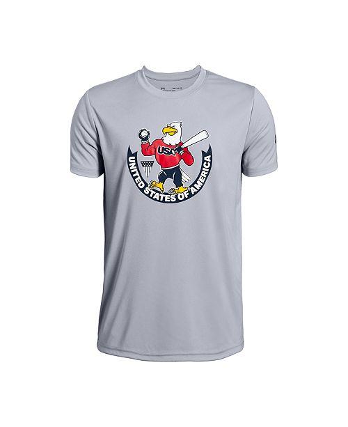 Under Armour Big Boys USA Eagle T-Shirt