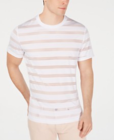 I.N.C. Men's Ample Stripe T-Shirt, Created for Macy's
