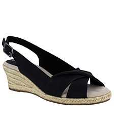 Maureen Espadrille Slingback Sandals