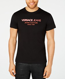 Versace Men's Logo Graphic T-Shirt