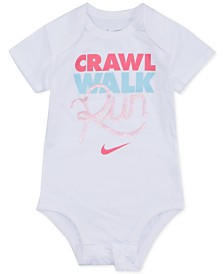 Nike Baby Girls Run Graphic Bodysuit