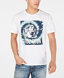 Men's Tie Dye Buddha T-Shirt