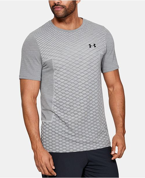 3acd5b874 Under Armour Men's Vanish Seamless Printed T-Shirt & Reviews ...