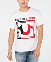 65a2c5970809fd True Religion Men s Spliced Logo T-Shirt