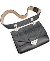 2b77ea1c7a4c MICHAEL Michael Kors Logo Drop-Down Belt Bag