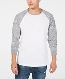 American Rag Men's Raglan Long-Sleeve T-Shirt, Created for Macy's