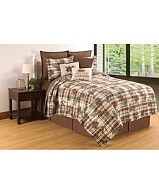Lookout Lodge Full Queen Quilt Set