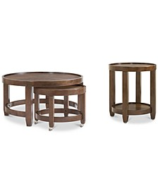 Lilah Table 2-Pc. Set (Cocktail Nesting Table & End Table)