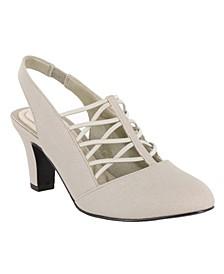 Berry Slingback Dress Shoes