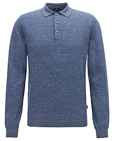 BOSS Men's Slim Fit Polo Sweater