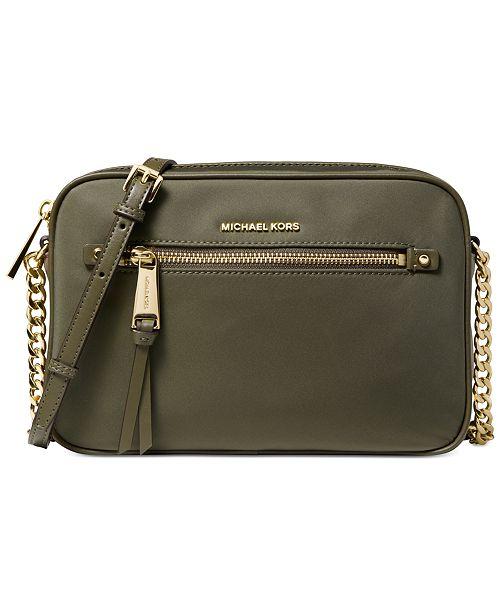 baee1ba2336d Michael Kors East-West Nylon Crossbody & Reviews - Handbags ...