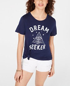 Jerry Leigh Juniors' Dream Seeker Graphic T-Shirt