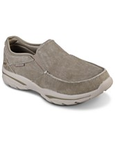 29a74402405 Skechers Men s Relaxed Fit  Creston - Moseco Slip-On Casual Sneakers from  Finish Line