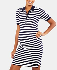 Motherhood Maternity Collared Dress