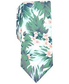 Bar III Men's Davis Skinny Floral Tie, Created for Macy's
