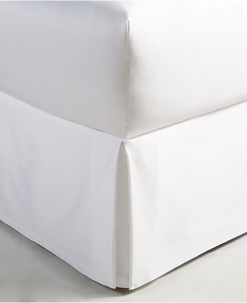 Hotel Collection Moire King Bedskirt, Created for Macy's