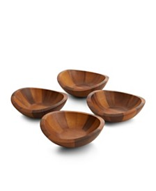 Braid Salad Bowls s/4
