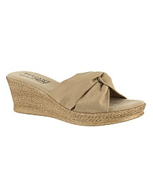 Tuscany by Easy Street Dinah Wedge Sandals