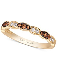 Chocolatier® Diamond Band(1/5 ct. t.w.) in 14k Gold