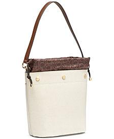 Calvin Klein Amber Signature Bucket Bag