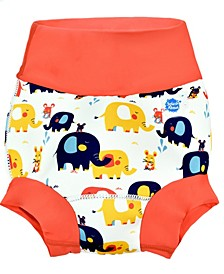 Reusable Happy Nappy Swim Diaper- Little Elephants 2-3 Years