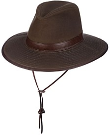 Men's Oil Cloth Safari Hat