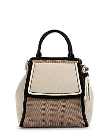 Celine Dion Collection Partita Satchel Canvas