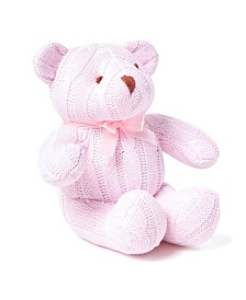Cable Knit Snuggle Bear