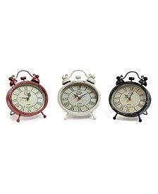Tabletop Clock (Set of 3)