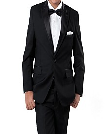 Tazio Peak Lapel 1 Button Tuxedo for Boys
