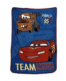 Disney Car's Super Soft Coral Fleece Toddler Blanket