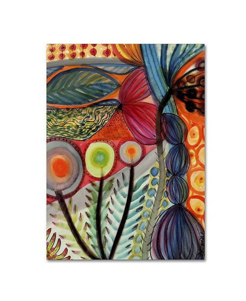 "Trademark Global Sylvie Demers 'Vivaces' Canvas Art - OVERSTOCK EXCLUSIVE - 28"" x 21"" x 2"""