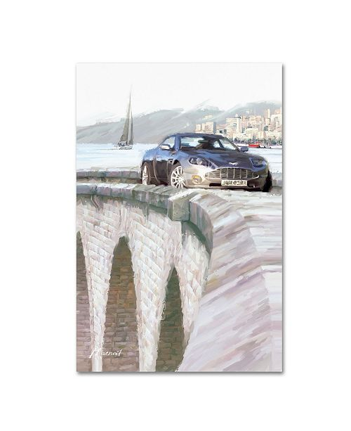 "Trademark Global The Macneil Studio 'Harbour Bridge' Canvas Art - 19"" x 12"" x 2"""