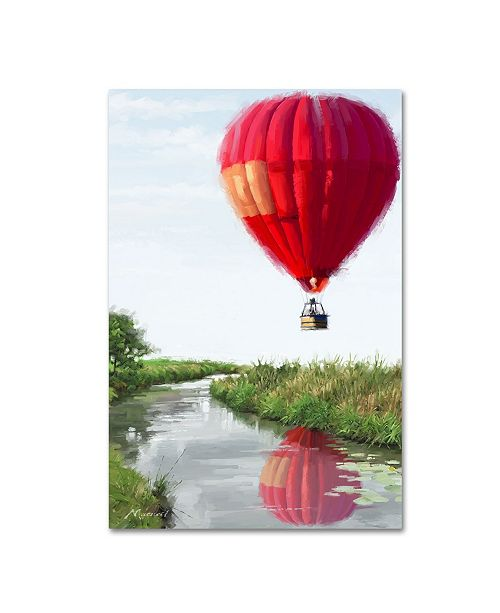 "Trademark Global The Macneil Studio 'Hot Air Balloon' Canvas Art - 47"" x 30"" x 2"""