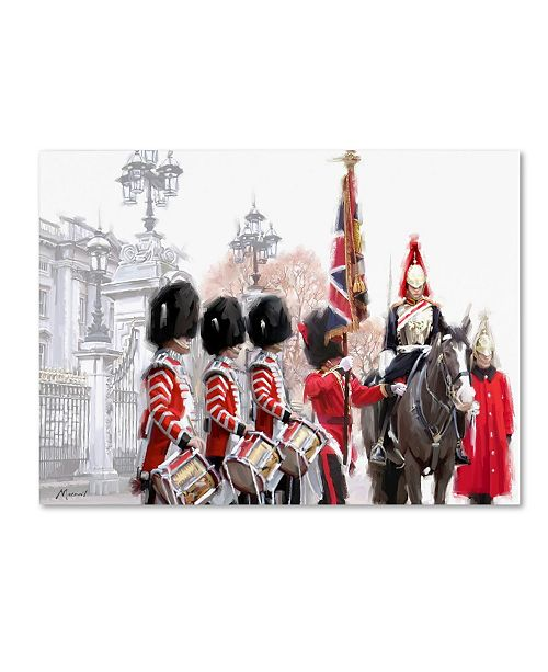 "Trademark Global The Macneil Studio 'Changing Of The Guard' Canvas Art - 24"" x 18"" x 2"""
