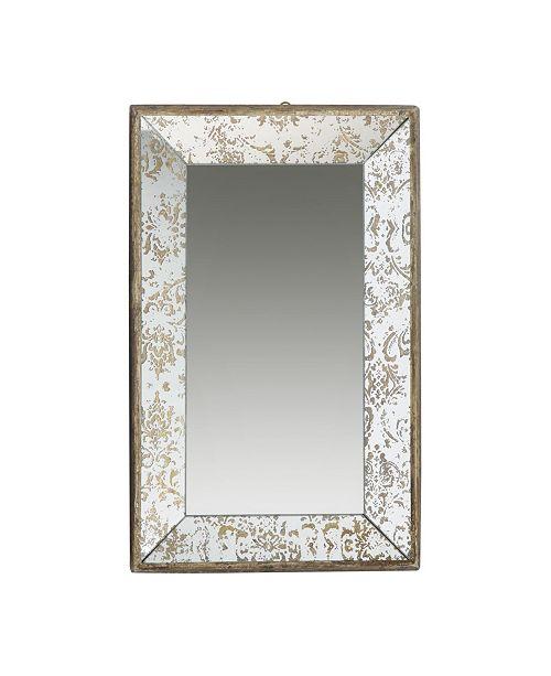 AB Home Dorthea Rectangular Hanging Mirror, Medium
