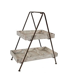 Xander 2-Tier Organizer Shelf