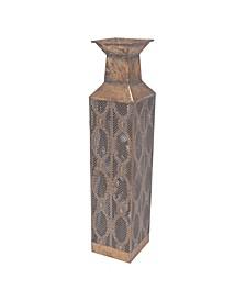 Moroccan Pierced Vase, Short