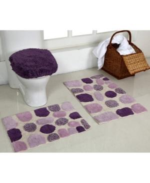 Better Trends 3 Piece River Rocks Bath Mat Set Bedding