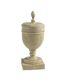 Chester Pedestal Vase with Lid