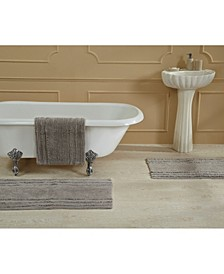 """Ruffled Border Bath Mat 17"""" x 24"""""""