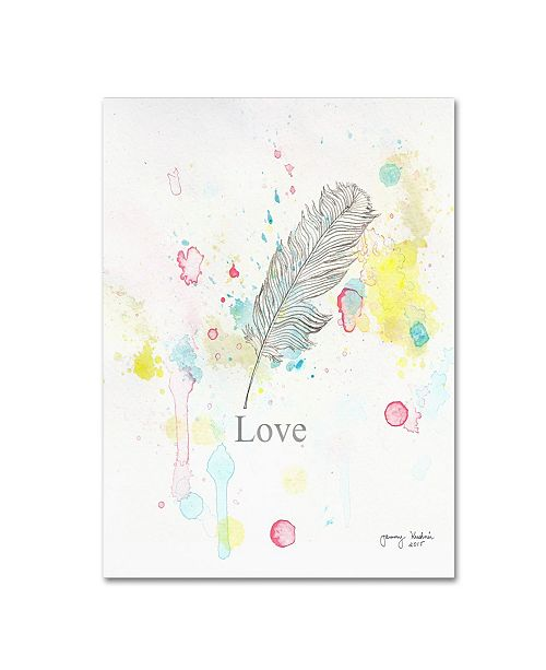 "Trademark Global Tammy Kushnir 'Love 3' Canvas Art - 32"" x 24"" x 2"""