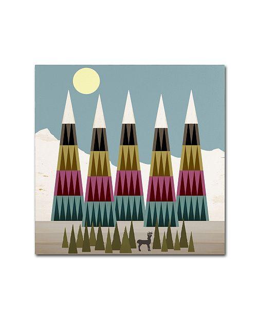 "Trademark Global Tammy Kushnir 'Glorious Day' Canvas Art - 18"" x 18"" x 2"""