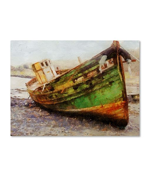 "Trademark Global Tina Lavoie 'Old Salt' Canvas Art - 47"" x 35"" x 2"""