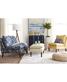 Martha Stewart Collection™ Bedford Living Room Collection, Quick Ship, Created For Macy's