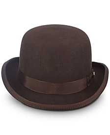 Men's Wool Bowler Hat