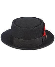 Men's Wool Pork Pie Hat